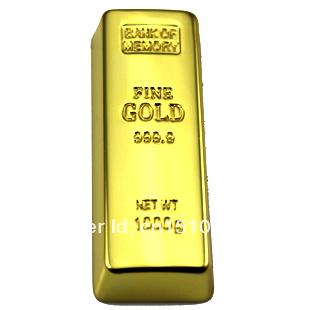 Waterproof usb ! Diamond Jewelry metal gold 4gb/8gb/16gb/32gb Golden usb flash drive usb pen drive pendrive Free shipping(China (Mainland))