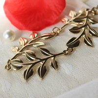 High Quality,Fashion gold leaf leaves hair band headband bands,hair accessory,Leaf Hair Clip,Free Shipping