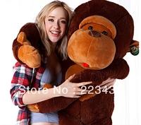 Free shipping ,130cm giant size stuffed plush animal Monkey coat/skin/cloth,Gorilla cloth,birthday gift , new year kids toys 1pc