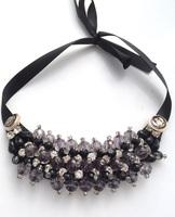 High Quality Crystal False Collar Necklace Back Strap False Collar Necklace Romantic bead Necklaces Fashion Handmade jewelry