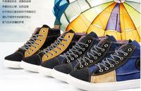 Men's shoes Han Yinglun wind tide male canvas shoes washed denim canvas shoes wet