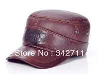 4802 men's autumn and winter sheep skin windproof ear cap ear cap winter hat leather elderly