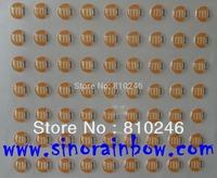 Custom round epoxy stickers printing