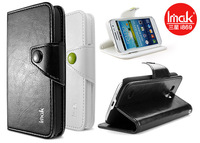 Imak Brand Product Tianheng Series Leather Case for Samsung i869 Galaxy Win with card slot and stand function