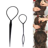 Minimum order for $5  hair needle maker hair accessory hair bun maker hair appliances synchronized pull hair pin invisible