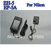 EH-5A +EP-5A coupler ac adapter For Camera Nikon D3100.D3200,D5100,P7000,P7100,P7100 US EU UK AU