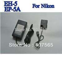 EH-5A +EP-5A coupler ac adapter For Camera Nikon D3100.D3200,D5100,P7000,P7100,P7100 US EU UK AU