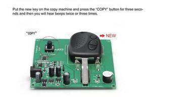 Chevrolet Remote Key Copy Machine for Chevrolet Holden Key 3 Button 304MHZ(SA593)