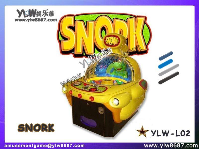 coin operated snork,ticket snork,redemption snork(China (Mainland))