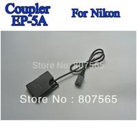 DC Coupler EP-5A Connector For Camera Nikon D3100.D3200,D5100,P7000,P7100 P7700 Adapter EH-5