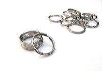 Split Key Rings for making Key Chains - 7/8 Inch (22 mm)