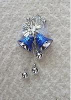 2013 New Fashion Shining Happy Cute Christmas Bells Blue YW11100903