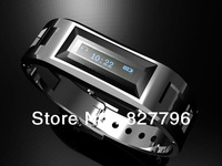 Free shipping Bluetooth V1.2 Bracelet Wrist Watch with Caller's ID /24H Time Display