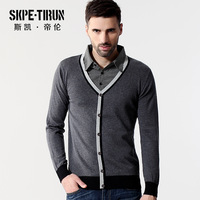 Autumn new arrival business casual male slim sweater