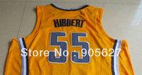 INDIANA 55# aju rev30 jersey MIX ORDER SIZW S M L XL XXL XXXL Roy Hibbert authentic jersey Embroidery basketball jersey