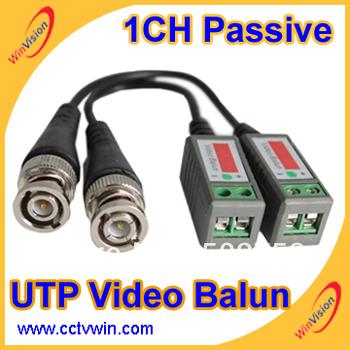 cctv video balun,passive cctv balun,cctv utp video balun