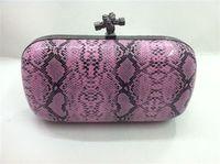 2013 women's handbag vintage evening bag bv three-dimensional serpentine pattern day clutch