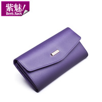 2013 fashion women's genuine leather multi card holder long design handbag lady first layer of cowhide genuine leahter wallets