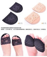 3 Pairs Secret Women Front Insoles Socks Comfortable Anti-Skid Thickened Contton  Forefoot Pad Insoles P39