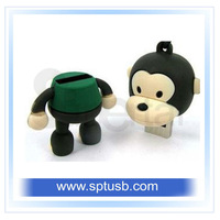 cartoon usb flash drive cute pen drive personalized usb flash 2.0 memory stickdrive pen disk 1gb 2gb 4gb 8gb 16gb+free shipping.