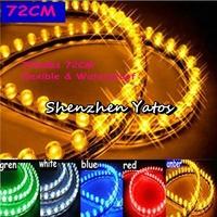 5pcs 72cm 72LED  Car Truck PVC LED Light Strip flexible
