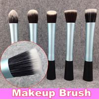 New Sky Blue Professional Powder Brush Liquid Foundation Brush + Free Shipping