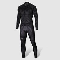 The Avengers Superhero Batman Cycling Costume Dark Knight Returns Biking Suits Cycling Long Jersey&Pant Bat-Man Size S-3XL