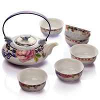 Kung fu tea bone china tea set