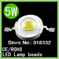 50PCS 1W /3W /5W  LED led lamp bead chip Pury  light high power 120 degree ,warm white/cool white free shipping