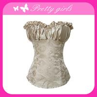Free shipping,2013 Newest Fashion Adult Sexy corset wear, corset+G-string, size s,m, l, xl,xxl,