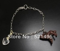 Hot Twilight Breaking Dawn bracelet jewelry Newest Twilight Breaking Dawn Bella's Wolf  Heart chain Bracelet