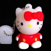 2GB 4GB 8GB 16GB 32GB  Red  Kawaii Cartoon Characters model USB 2.0 Flash Drive