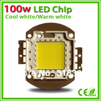 10pcs/lot  wholesale High power 100w led chip for flood light warm white cool white red green blue led emitter 100w