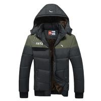 Free Shipping, New, coat,  Male, detachable cap, leisure, men's short outwear