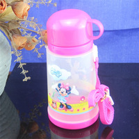 2013 New Free Shipping Lovely Large Capacity Outdoor Sports Drink Bottle Food Grade PP Material 600ml Pink