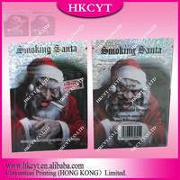 Wholesale herbal incense bag,smoking santa, small foil zipper bag