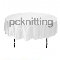 2013 Free Shipping hot selling satin 70 inches round tablecloth/table cover