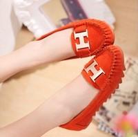 2013 autumn rhinestone Moccasins female scrub plus size flat female flat heel single shoes women's shoes