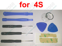 9 in 1 Repair Pry Opening Tools Kit Tool FOR Cell phone APPLE IPHONE iPhone 4s 100sets (900pcs)