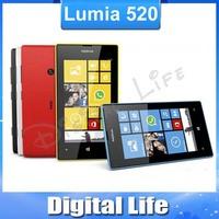 Lumia 520 Original Nokia 520  Dual Core 3G  WIFI GPS 5MP Camera 8GB Storage Unlocked Windows Mobile Phone