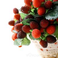 Yoyo 9 fruit decoration flower artificial flower artificial fruit paddle mulberry photo props