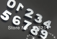 free shipping 100pcs Internal Dia.10mm fit 10mm band plat zinc alloy Slide number Charm DIY Accessories