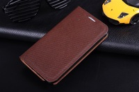 New Arrival Luxury Retro 100% cowhide leather Flip case for Samsung Galaxy Note 2 N7100,Business Stand design cover card Slot