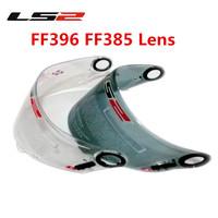 Free Sipping Carbon Fiber Motorcycle Helmet LS2 FF396 FF385 Lenses Color Transparant Dark Grey