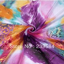 wholesale printed silk fabric