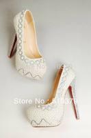 high heel shoes women 2013 platforms rhinestone platform pumps high heels wedding shoes Women's Pumps
