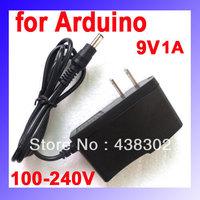 10pcs/lot 9V/1A Power Supply Adapter US Plug for Arduino UNO MEGA Duemilanove Free Shipping Dropshipping