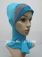S464 new style full ninja underscarf,muslim underscarf,mini hijab,$15 off per $150 order