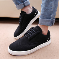 2013 autumn flat male shoes male casual leather shoes fashion shoes