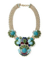 Banana-R Free Shipping B-R -J / Turquoise Statement Necklace